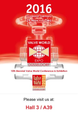 WAKMET Valve World Expo 2016